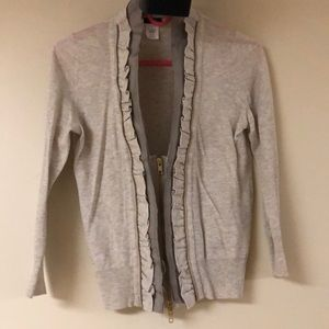 J.Crew Zipper Cardigan